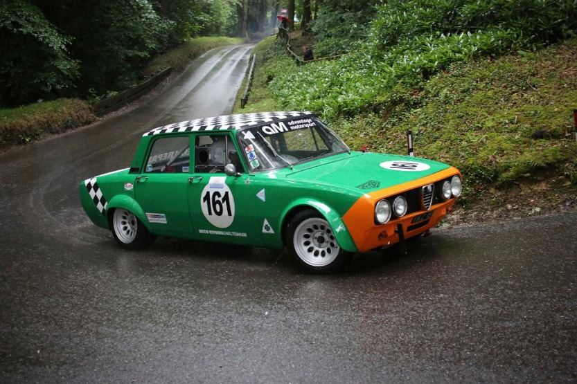 Alfa Romeo Hillclimb car as Wiscombe