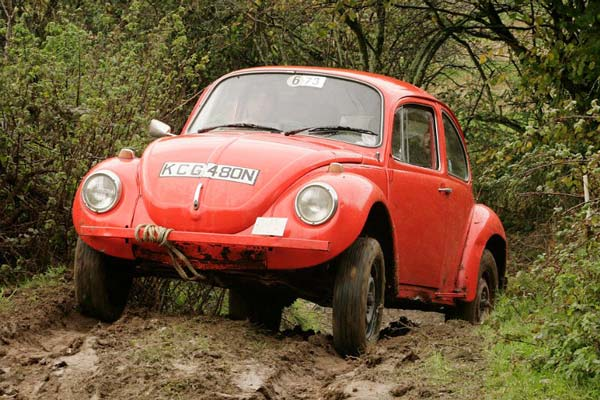 VW Beetle Trials Car